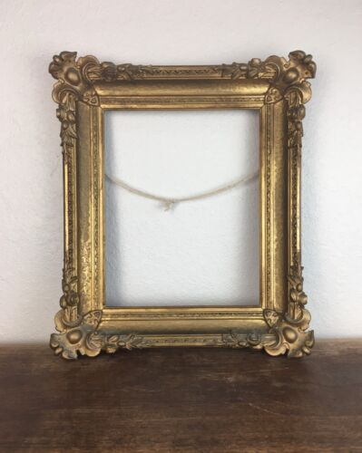 Antique 19thC Victorian Carved Gilt Frame No Reserve!