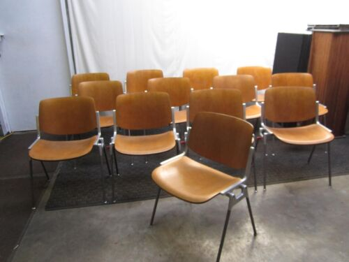 Castelli Italia Mid Century Modern Stacking Chairs - 13 available