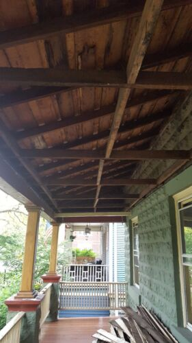 "Wood Porch Column Yellawood Brand 8"" x 8"" x 10'  West Chicago suburbs"