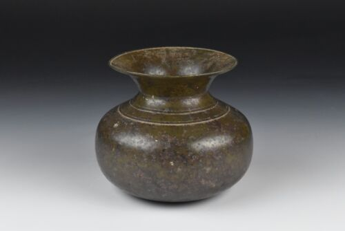 Antique 17th / 18th Century Middle Eastern Bronze Spittoon