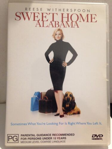 SWEET HOME ALABAMA - REESE WITHERSPOON (R4-PAL-LIKE NEW) - DVD #781