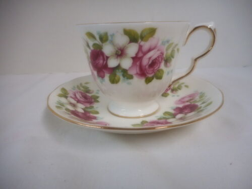 Queen Anne Cup and Saucer England