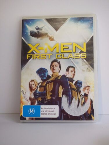 """""""X Men - First Class - Region 4 DVD - Rated M"""" - Great Condition! Bargain Price!"""