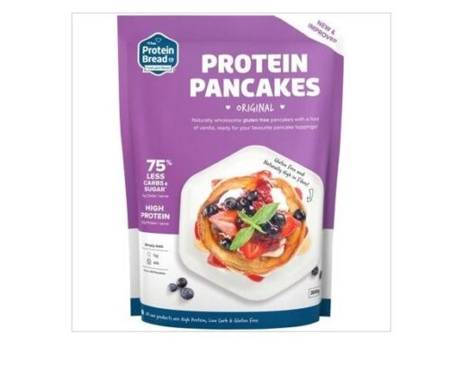 3 x 300g - THE PROTEIN BREAD CO. Protein Pancakes ( Gluten Free / Vegetarian )