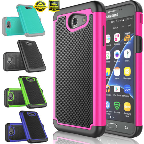 For Samsung Galaxy Amp Prime 2 /Express Prime 2 Shockproof Rugged Case Cover