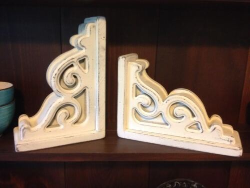 RUSTIC CORBELS / BRACKETS (BOOKEND SIZE) sold INDIVIDUALLY and UNPAINTED