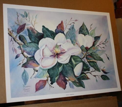 Baldwin Magnolias by B Sumrall Southern Magnolia White Flower Floral