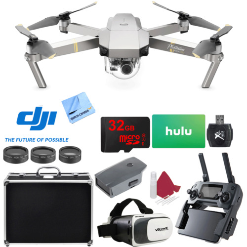 DJI Mavic Pro Quadcopter Drone with 4K Camera and Wi-Fi Super Pack