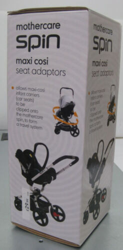 Genuine Mothercare Spin Adapter Maxi Cosi Car Seat adaptor Brand new