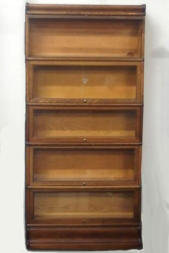 MACEY STACKING LAWYER'S BOOKCASE Lot 275