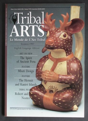 """TRIBAL ARTS"" MAGAZINE ""OUT OF PRINT"" ISSUE 12 SUMMER 1997 HERMIT ISLANDS"