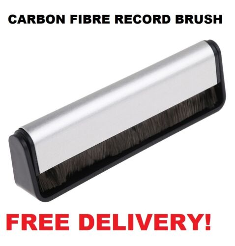 Anti-static Vinyl Record LP Carbon Fibre (Fiber) Record Cleaner Cleaning Brush   <br/> FREE POSTAGE - STOCK IN AU