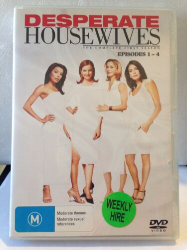 DESPERATE HOUSEWIVES- COMPLETE 1 SEASON( 4 DISC) (R4-PAL-VERY GOOD) - DVD #1000