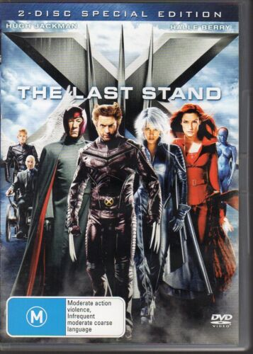 X-MEN THE LAST STAND - DVD R4 (2006) 2-Disc Special Edition - LIKE NEW FREE POST