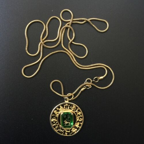 Necklace With Loin Pattern