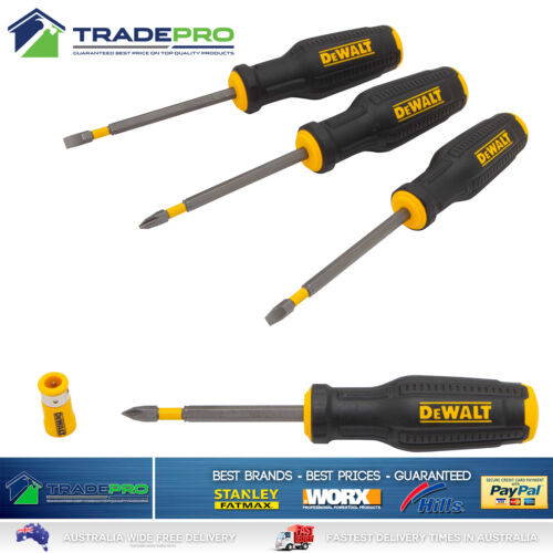 PRO'S KIT 4PC SCREWDRIVER SET TRI WING SD-081G Home & Garden Home ...