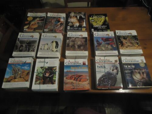 Complete Australian Geographic Collection - No. 1 thru to No. 134