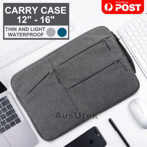 """Waterproof Laptop Sleeve Carry Case Cover Bag Macbook Lenovo Dell HP 12"""" 13"""" 15"""""""
