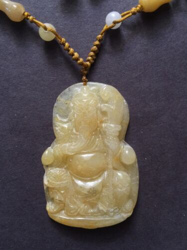 Chinese Jade Carving Necklace