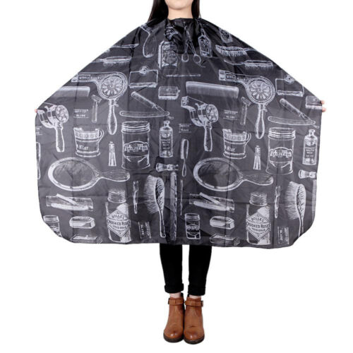 Large Salon Hair Cutting Cape Barber Hairdressing Haircut Apron Cloth For Unisex <br/> Locate in AU! 24 Hours Handling Time! With Tracking No.