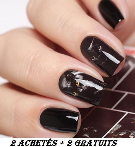 ❤️nouveaux Stickers Chat Bijoux Ongles Water Decals Nail Art Manucure