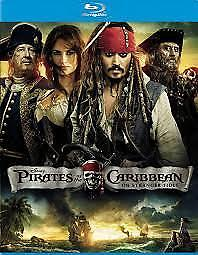 Pirates Of The Caribbean - On Stranger Tides (Blu-ray) NEW SEALED
