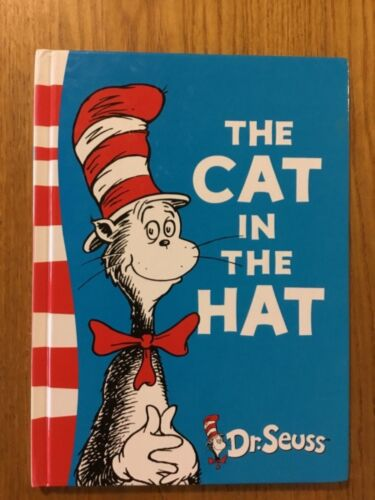 THE CAT IN THE HAT by Dr. Seuss Hardcover  2010 green back edition. VGC