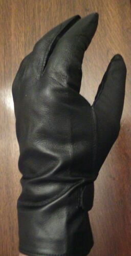 Men's French Leather Gloves Size Large, EU 8.5