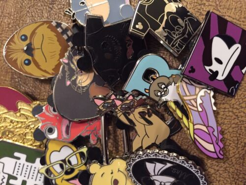 DISNEY PINS 100 pin MIXED LOT FREE SHIPPING           GET YOUR TRADE ON