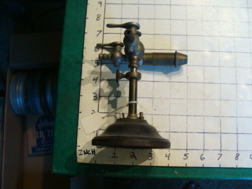 vintage BUNSEN BURNER from Elli Buk collection: DOUBLE INTAKE, so cool