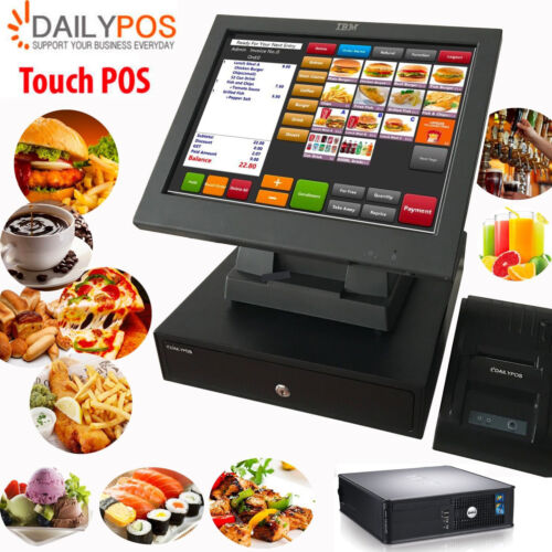 Touch POS System Restaurant Cafe Pizza Fish Chips Takeaway Cash Register <br/> Season Promation, Sepcial Price $629 will end at 31 May
