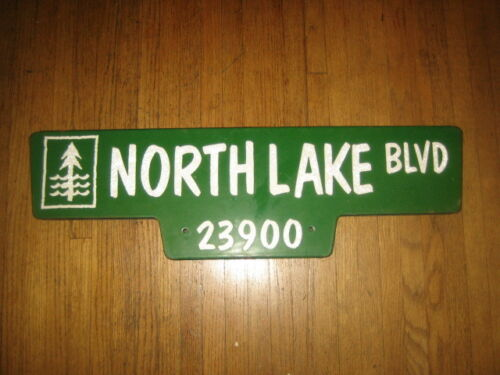 Porcelain/enamel Road sign/street sign dbl sided/dual colored (GROUND GLASS)