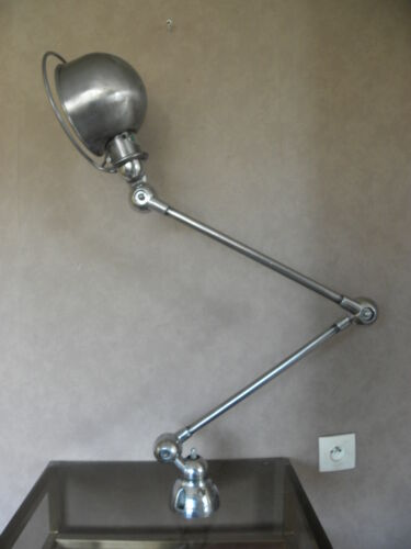 retro lamp Machinist light desk sconce arms articulating Machine age Industrial