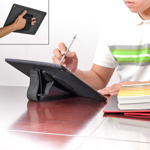 TFY Padded Hand-Strap plus Tablet PC Cover Case i Pad Stand for i Pad Pro