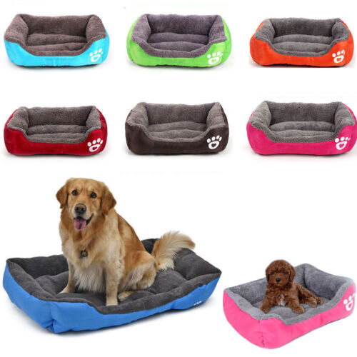 Large Pet Dog Cat Bed Soft Warm Kennel Dog Mat Blanket Puppy Cushion House E0511