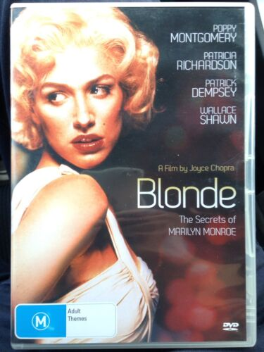 Blonde - The Secrets Of Marilyn Monroe DVD, Joyce Chopra, Aus Region 4