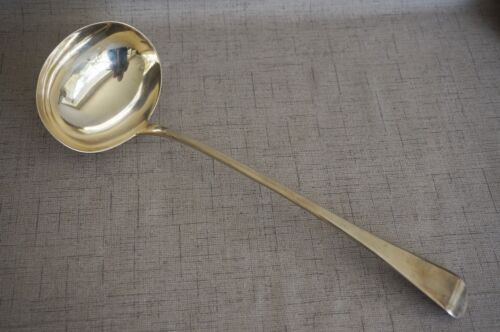 William Ely & William Fern STERLING SILVER SOUP LADLE - London 1815