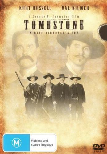 Tombstone DVD DVD TOP 500 MOVIE WESTERN BIOGRAPHY TRUE STORY 2-DISC BRAND NEW R4