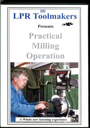 Practical Milling Operations from LPR Toolmakers (DVD)