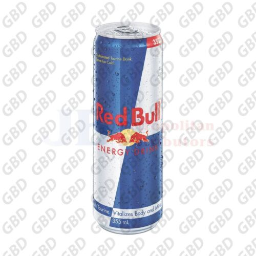 RED BULL CANS 355ML (Box of 24 Cans)