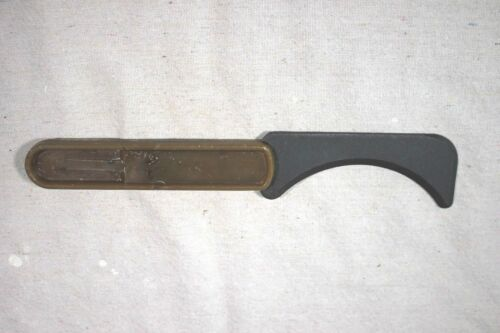 WW2 German Or Soviet Russian Cord Rope Curved Fighting Knife Cutter Unknown HelpEdged Weapons - 36045
