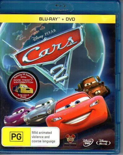 Cars 2 Dvd Got Free Shipping Au