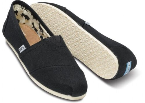 Toms Women's Classics Slip On Authentic Blk/Ash/Red/Nvy