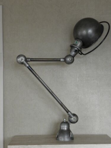 lamp light french industrial space age jielde desk sconce bauhaus articulating