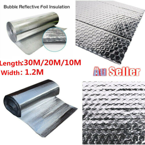 Aluminum Air Bubble Cell Insulation Reflective Foil Heat Barrier House FloorWall