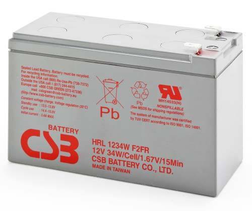 NBN Power Supply Battery by Hitachi CSB - Upto 8yrs Service Life 1yrs Warranty