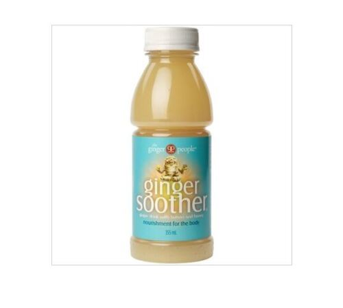 10 x 355ml THE GINGER PEOPLE Ginger Soother Drink