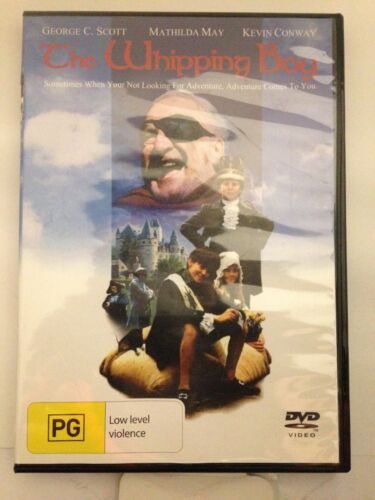 THE WHIPPING BOY - GEORGE C. SCOTT (R4-PAL-LIKE NEW) - DVD #1085