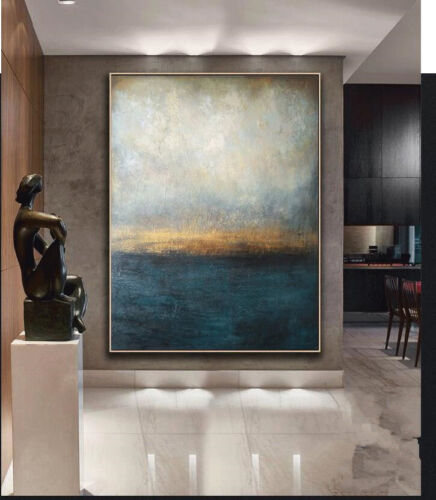 YA796 Large Hand-painted abstract oil painting on canvas Home Wall Decor art