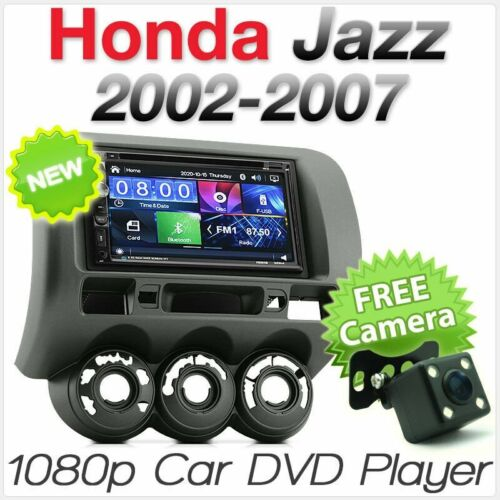 Car DVD MP3 Player For Honda Jazz Fit GD Stereo Radio CD MP4 USB Fascia Kit ISO